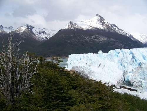 Glacier Perito Moreno Argentina Mountain Nature