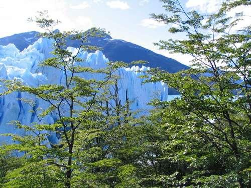 Glacier Nature Argentina Landscape Perito Moreno