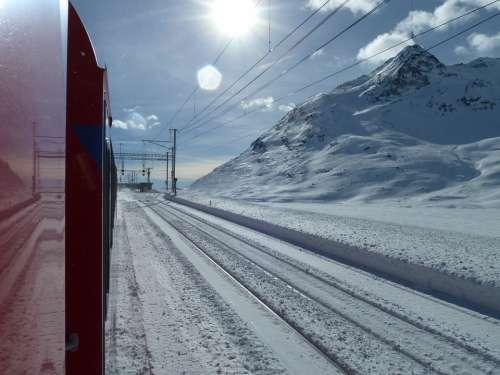 Glacier Express Graubünden Switzerland