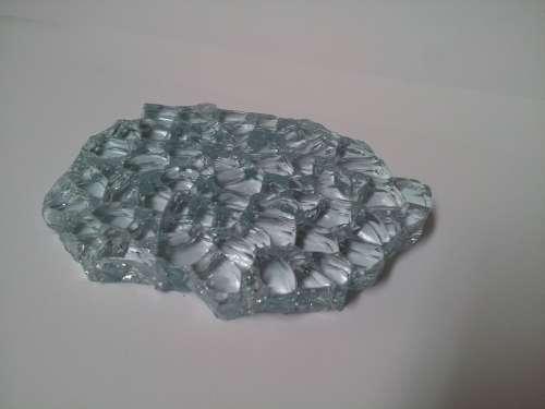 Glass Broken Glass White Broken