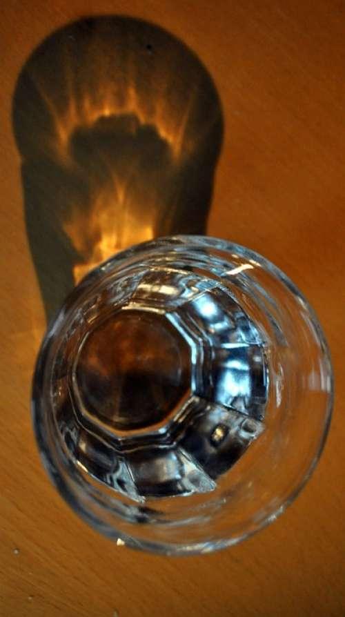Glass Shadow Reflection