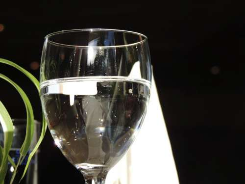 Glass Water Drink