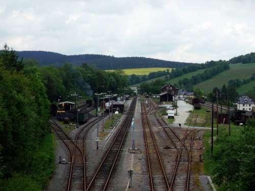 Gleise Train Small Gauge Railway Steam Locomotive