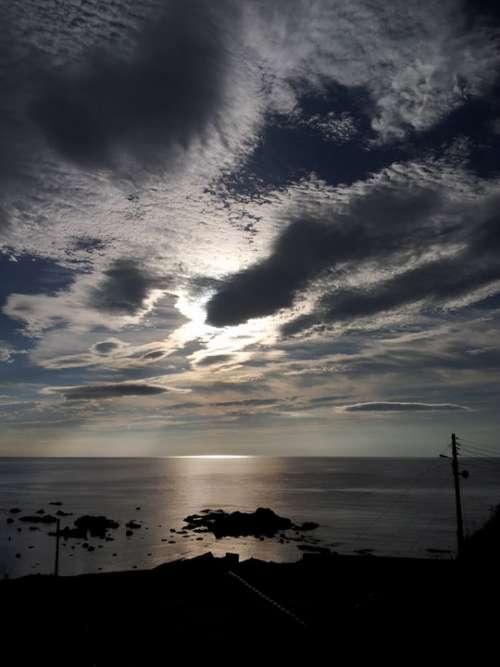 Glow Beach Sea Sky