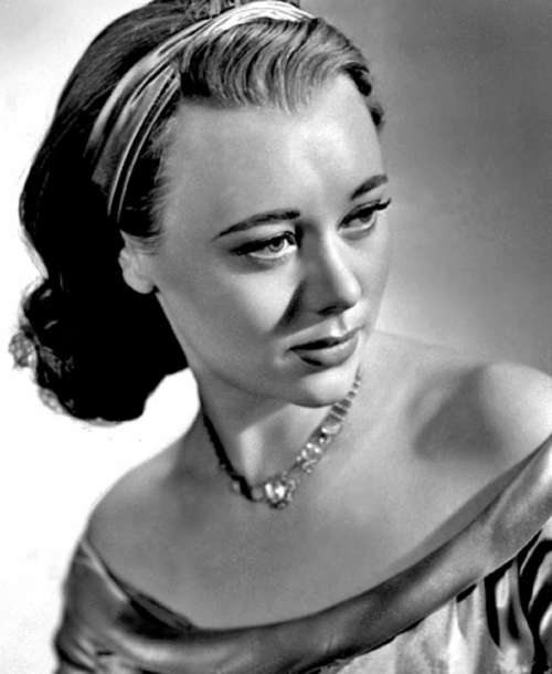 Glynis Johns Actress Stage Film Dancer Pianist