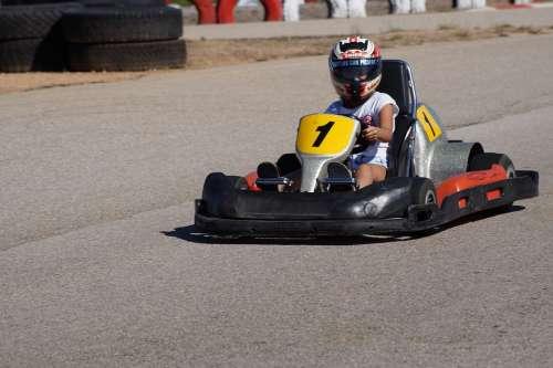 Go-Kart Race Go Kart Track Kart Cart Los Helm