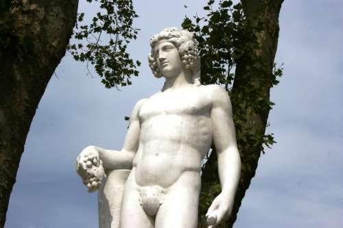 God Of Wine Baco Gardens Of Versailles Versailles
