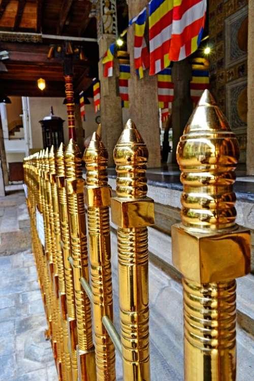 Gold Fence Fence Barrier Kandy Sri Lanka