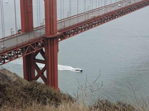 Golden Gate Bridge Bridge Suspension Bridge