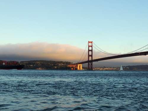 Golden Gate Bridge San Francisco Ocean Pacific