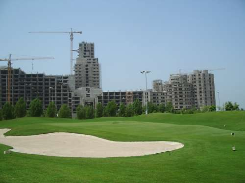 Golf Course Golf Uae Dubai United Arab Emirates