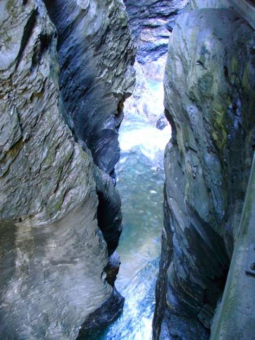 Gorge Water Nature Eng Rock