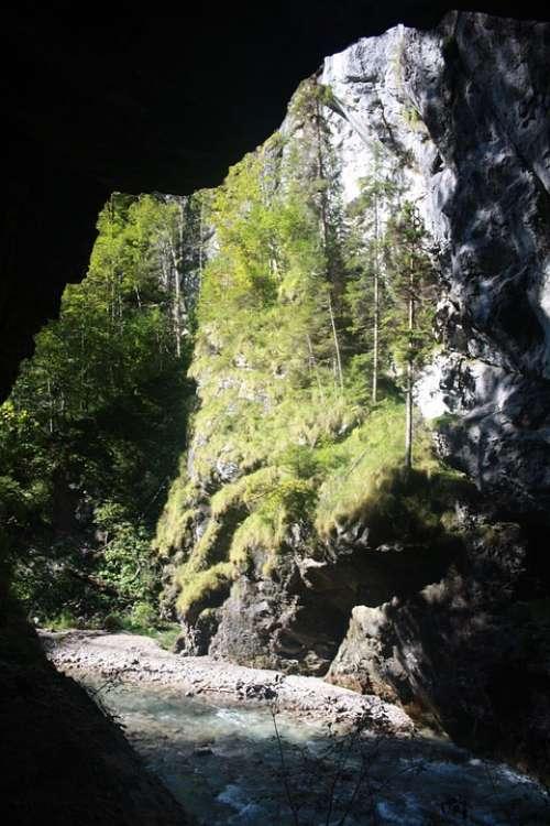 Gorge Nature Landscape Rock Mountains Natural