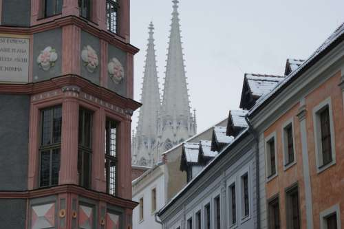 Görlitz Church Germany Architecture Religion City