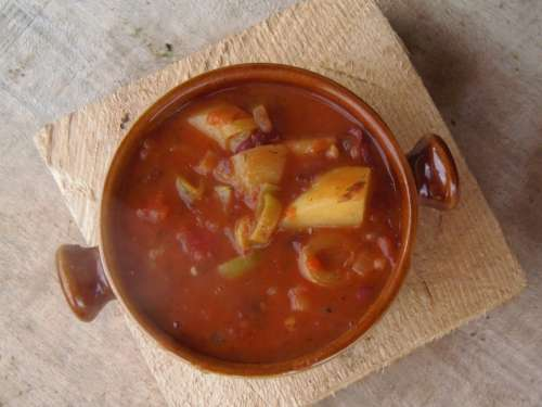 Goulash Soup Food Outdoor Dish Healthy Vegetarian