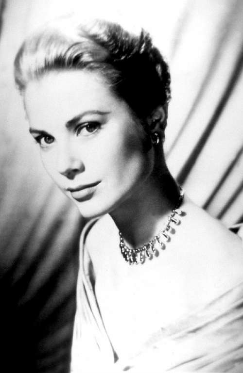 Grace Kelly Actress Vintage Movies Motion Pictures
