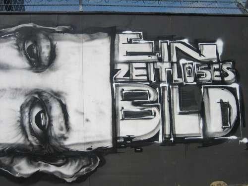 Graffiti Ecb Frankfurt Street Art