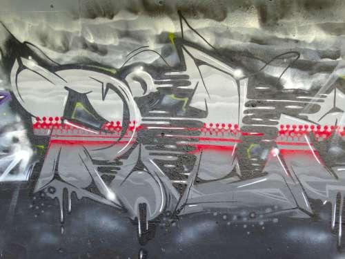 Graffiti Color Colorful Decorative Spray Art