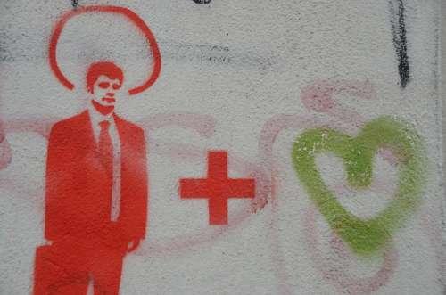 Graffiti Man Street Art Mural Colorful Art