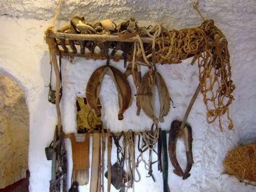 Granada Andalusia Spain Block Cave Sacromonte