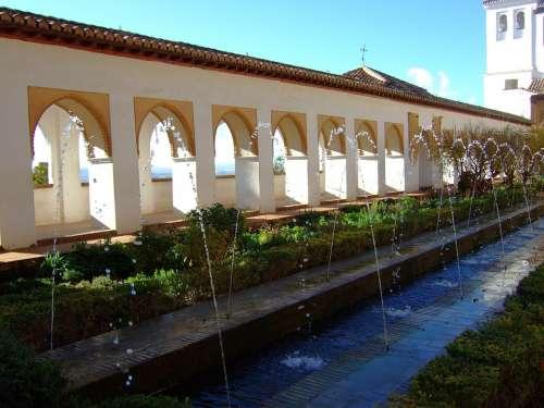 Granada Generalife Gardens Andalusia Spain