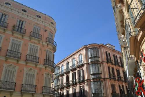 Granada Spain Houses City Architecture