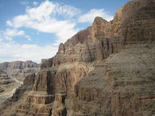 Grand Canyon Canyon Nature Scenery Rock Formation