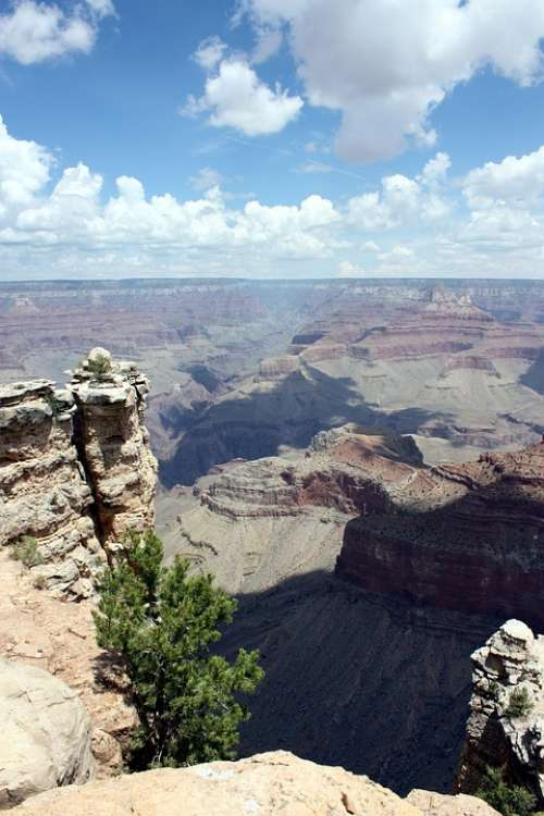 Grand Canyon Outdoor Scenery Erosion Rock