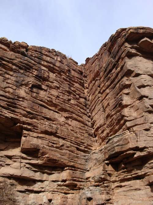 Grand Canyon Corner Rocks Cliff Geometric Nature