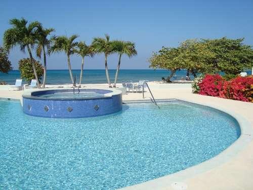 Grand Cayman Swimming Pool Summer Water Resort