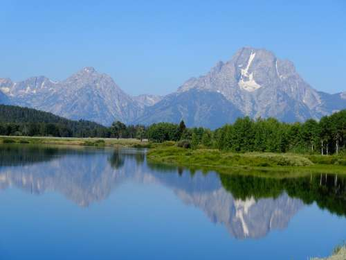 Grand Teton National Park National Park Southwest Usa
