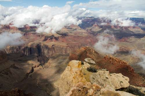 Grandcanyon Crossusa Usa Colorado Hikersbay Travel