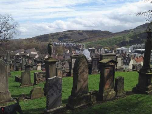 Graves Graveyard Scotland Grave Cemetery Death