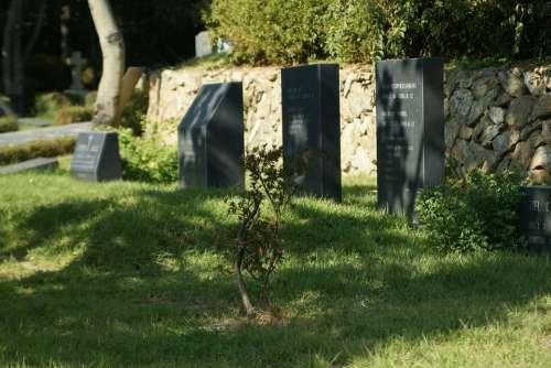 Gravestones Tombstones Headstones Tombs Cemetery