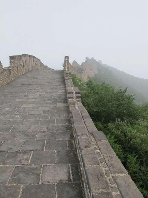 Great Wall China Chinese Wall Architecture