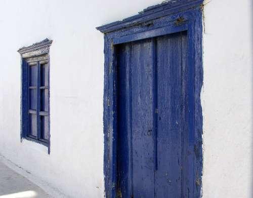 Greece Blue Greek Shutters