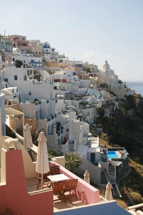 Greece Santorini Cyclades Landscapes