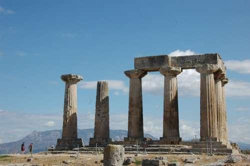 Greece Corinthos Apollo