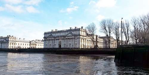 Greenwich London England River Thames