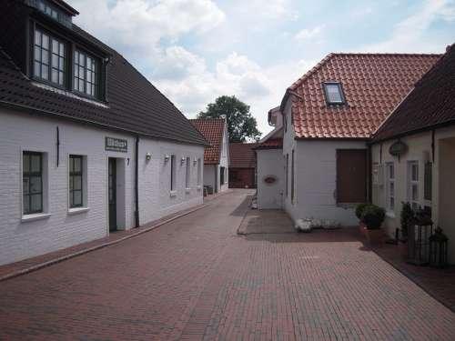 Greetsiel East Frisia Krummhörn Alley North Sea