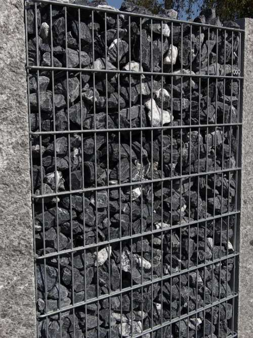 Grid Stones Structure Wall Stone Wall