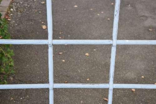 Grid Barrier Metal Secure Imprisoned Border