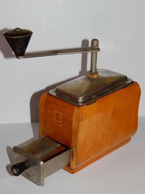 Grinder Coffee Grains The Drink
