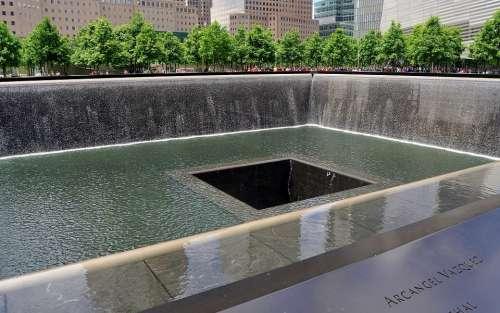 Ground Zero World Trade Center Memorial Manhattan