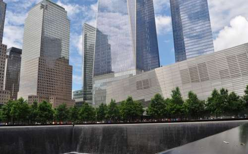 Ground Zero World Trade Center Manhattan New York