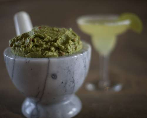 Guacamole Dip Mexican Snack Food Appetizer