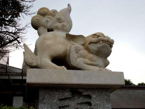 Guardian Dogs Shrine Miyazaki Prefecture