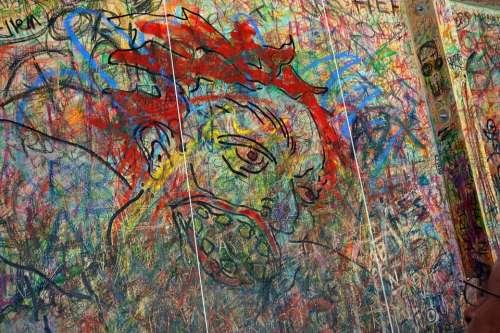 Guggenheim Art Painting Board Wax Crayons Paint