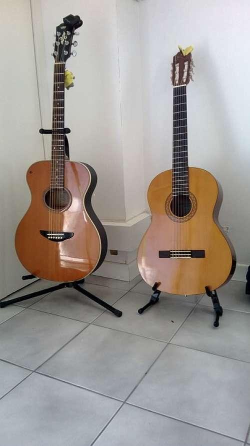 Guitar Guitars Twins