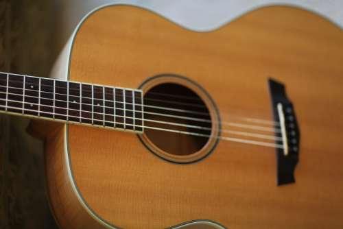 Guitar Acoustic Guitar Instrument Music Wood